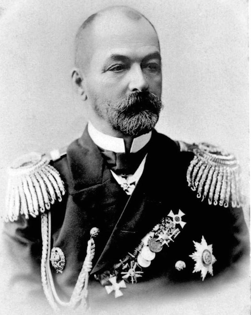 Капитан-лейтенант Зиновий Рожественский.