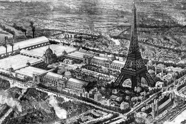 Всемирная выставка в Париже в 1889 году.