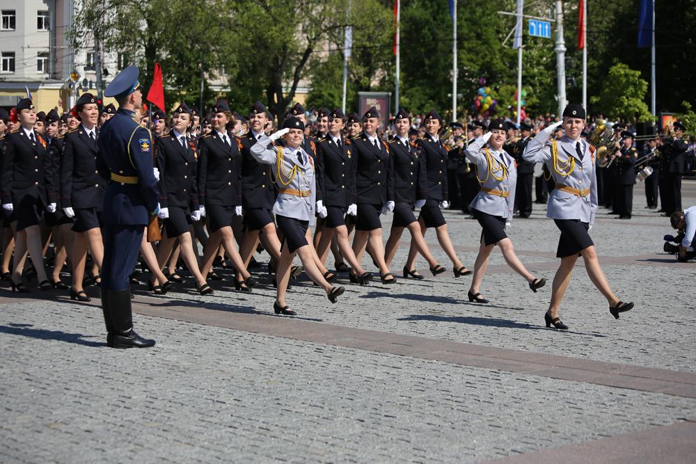 Парад Победы в Воронеже