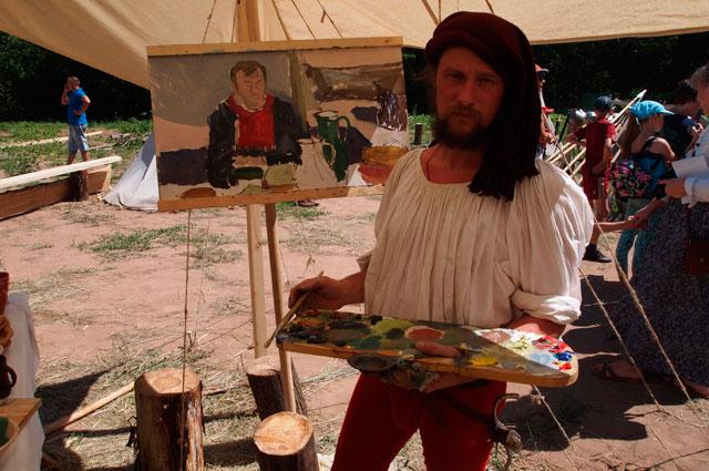Были в Средневековье и свои художники.