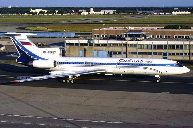 Ту-154М авиакомпании «Сибирь», идентичный разбившемуся.