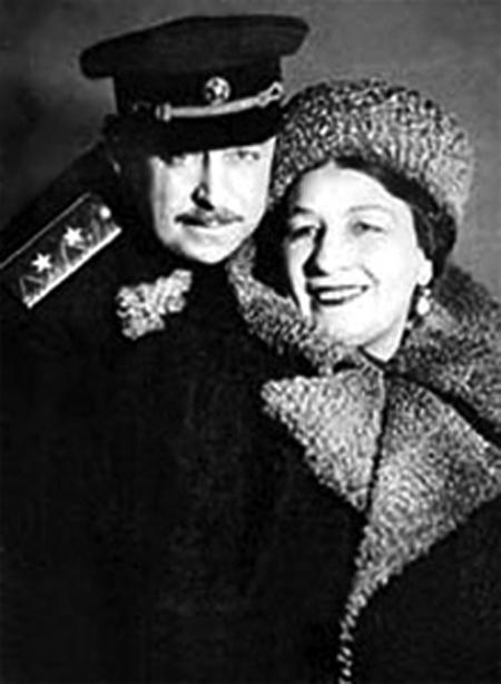 Владимир Крюков и Лидия Русланова.
