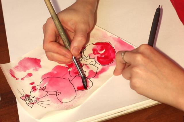 Валентинка своими руками ко Дню всех влюблённых