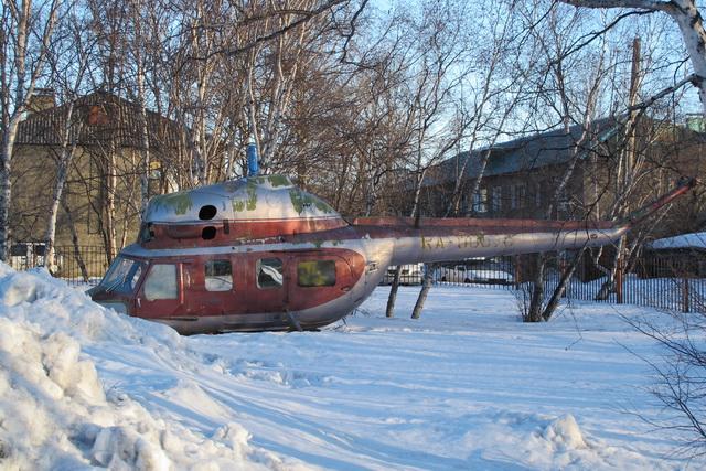 Вертолёт ещё предстоит восстановить.