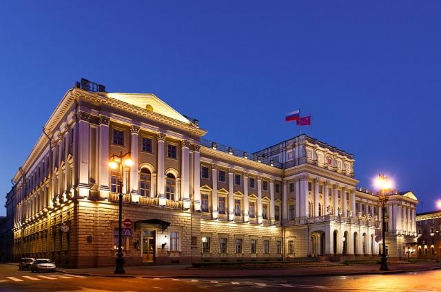 Сегодня здесь находится городской парламент.