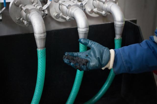 Анаэробный ил - живые микроорганизмы_ участвующие в процессе очистки стоков.