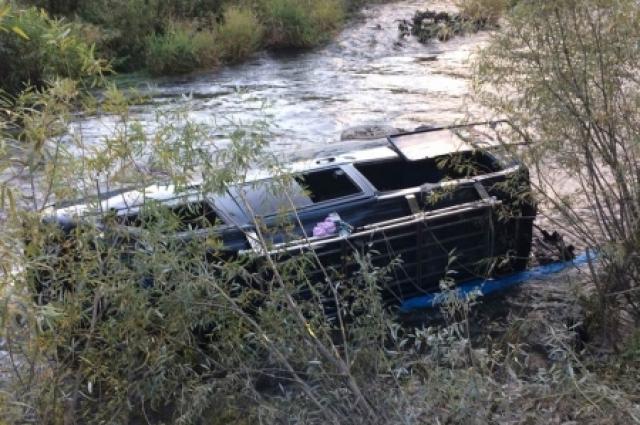 В ДТП пострадали пассажиры.