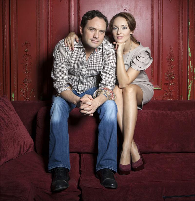 Анна Снаткина с мужем, Виктором Васильевым