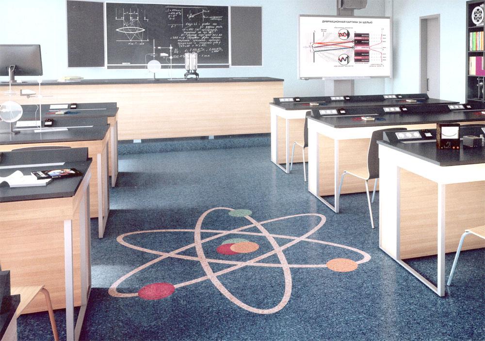 Школа в «Жигулиной роще», кабинет физики.