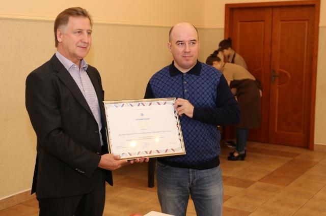 Ярослав Долинский вручил награды победителям конкурса «Лучший объект дорожного сервиса».