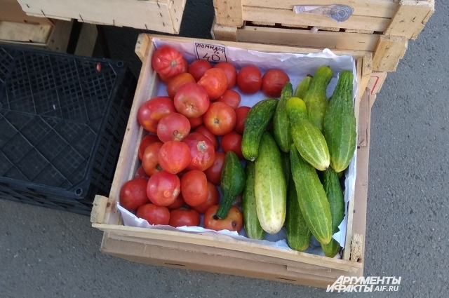 Где выросли эти овощи? Загадка для покупателя.