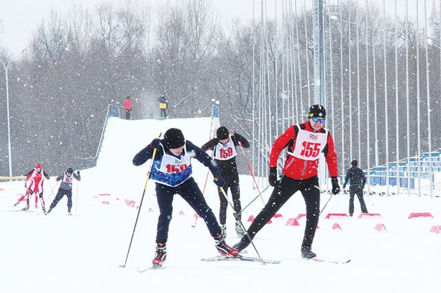 Лыжный спорт популярен среди энергетиков.