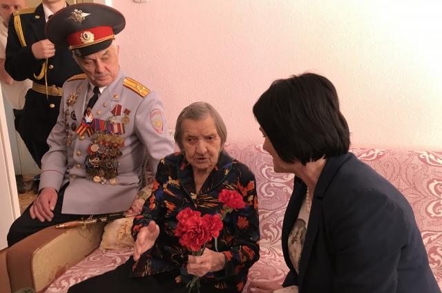 Валентина Мариловцева служила в полку связи.
