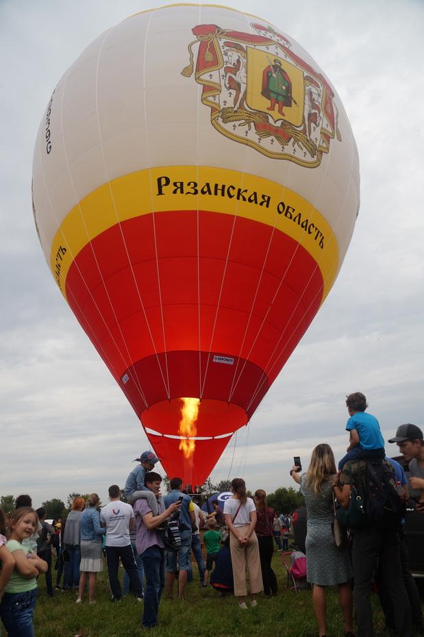 Аэростат Рязанской области в третий раз