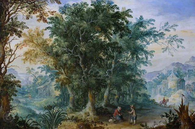 «Лесной пейзаж» Яна Брейгеля Старшего