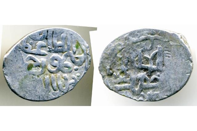 Серебряные монеты - данги.