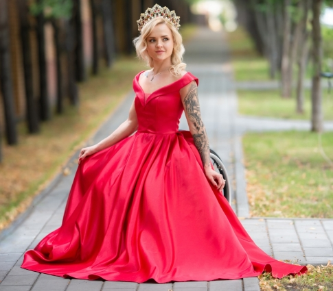 Наталья стала победительницей конкурса «Мисс Интеграция».