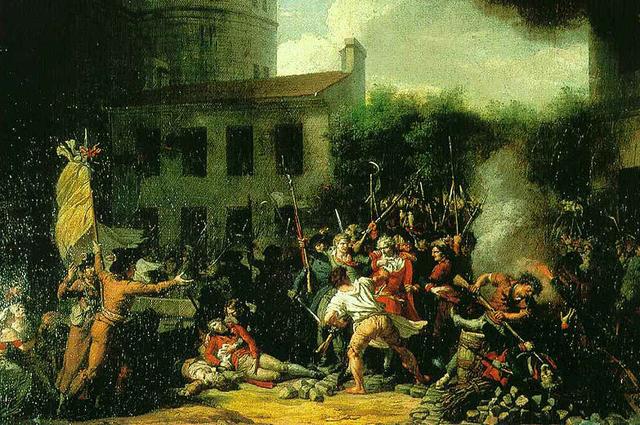 Взятие Бастилии. 1793, Шарль Тевенен