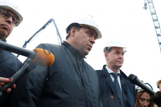 На 99% в строительстве будут использовать отечественные материалы.