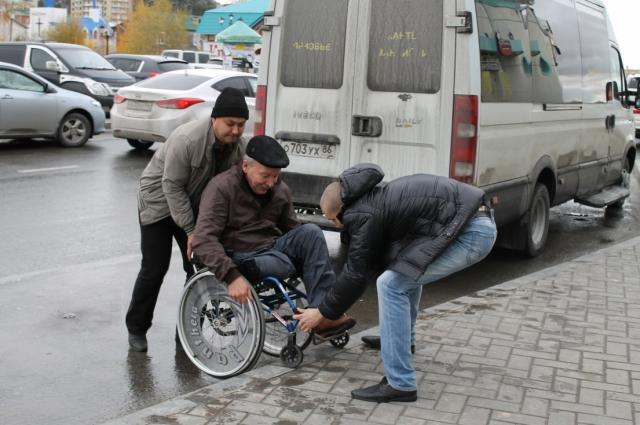 На 20 процентов доступен Брянск для инвалидов.