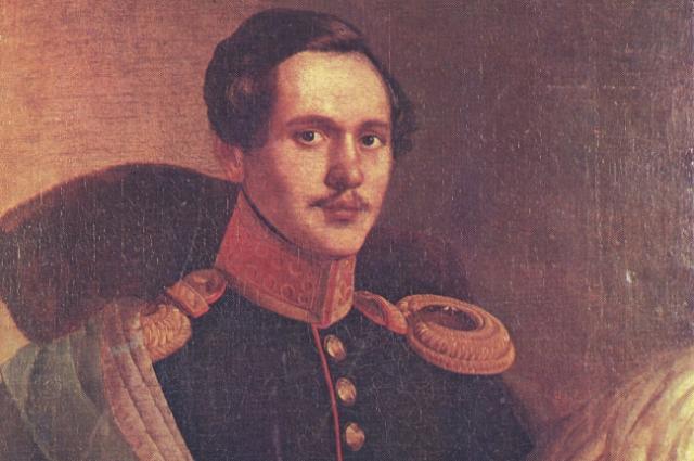 М. Ю. Лермонтов в вицмундире Лейб-гвардии Гусарского полка. Портрет П. З. Захарова-Чеченца.