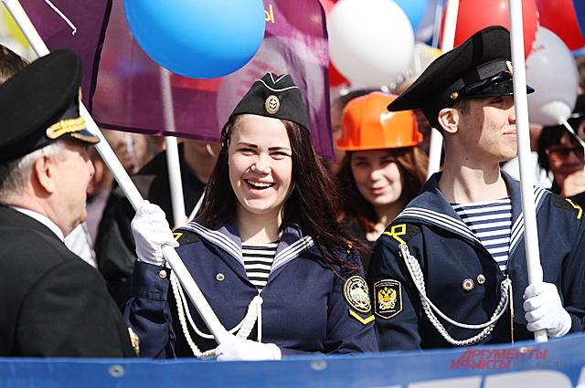День Военно-Морского Флота отмечают парадами и спортивными состязаниями.