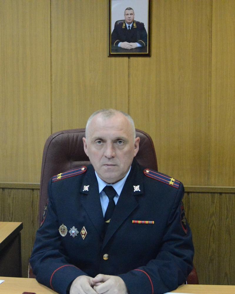 Начальник МРЭО ГИБДД России по Рязанской области Александр Васильев.