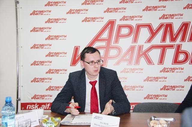 М. А. Малков, начальник отдела поддержки общественных инициатив управления общественных связей мэрии г. Новосибирска