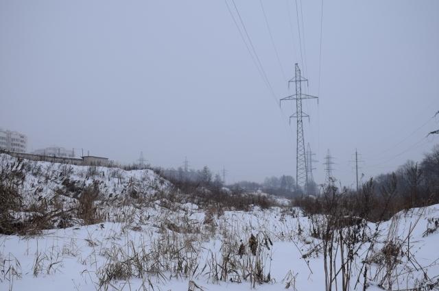 Ранее ВЛ 110 кВ «Тяговая 1,2» проходила вдоль жилых домов по улице Фатьянова