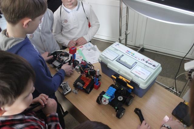 Робототехникой в лицее №25 занимаются дошкольники.
