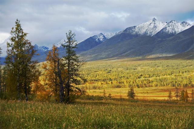 Осень на Приполярном Урале. НП Югыд ва