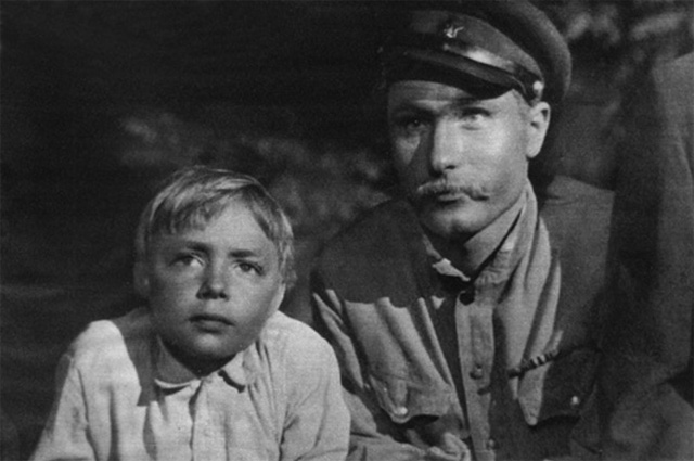 Василий Шукшин в фильме «Два Федора», 1958 год.