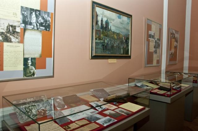 «Красный» зал центра изучения истории гражданской войны пополнилась экспонатами, рассказывающими о событиях 1918 года, происходивших на станции Марьяновка.