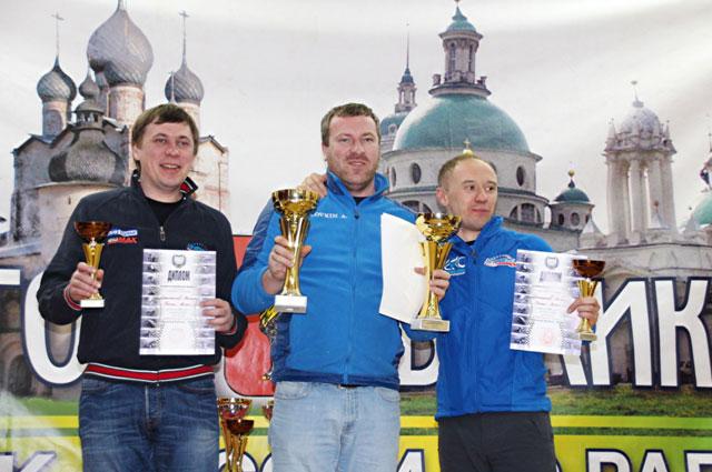 Ярославцы Андрей Головкин и Дмитрий Ловцов – победители монопривода.