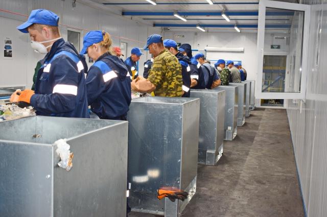 Завод по переработке мусора в омске
