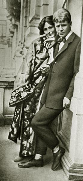 Сергей Есенин и танцовщица Айседора Дункан. 1922 год