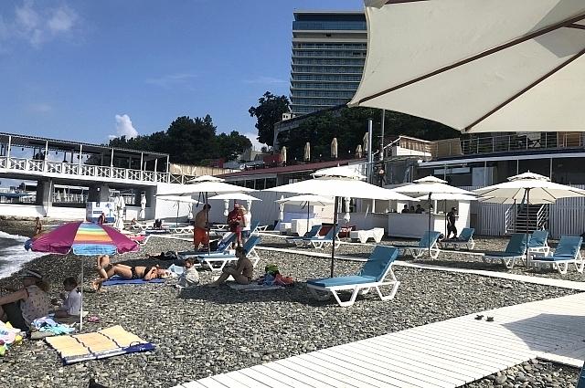 Спрос на отдых в Сочи вырос на 80 %.