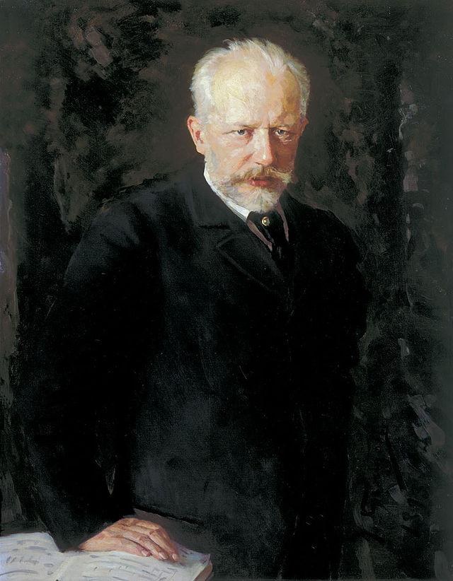 Последний прижизненный портрет Чайковского работы Н. Д. Кузнецова.