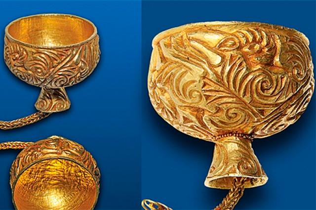 Золото скифов, найденное в Тыве
