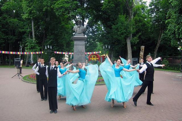 В парке Толстого пройдет танцевальный вечер.