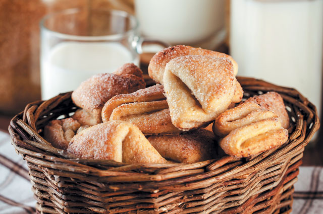Творожное печенье от Наины Ельциной
