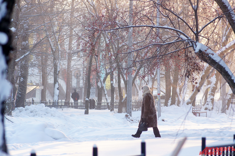 Синоптики говорят, что морозы спадут к середине января.