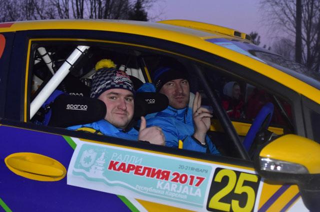 Ярославский экипаж СТК «Мотор» Андрей Головкин и Дмитрий Ловцов.