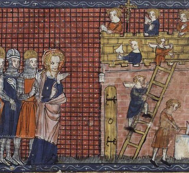 Святой Валентин из Терни и его ученики.