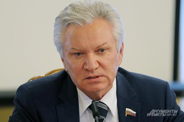 Депутат Госдумы, член Комитета ГД РФ по экологии Александр Клыканов.