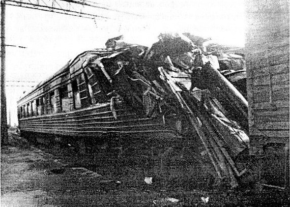 крушение поездов на станции Каменская, 7 августа 1987 года