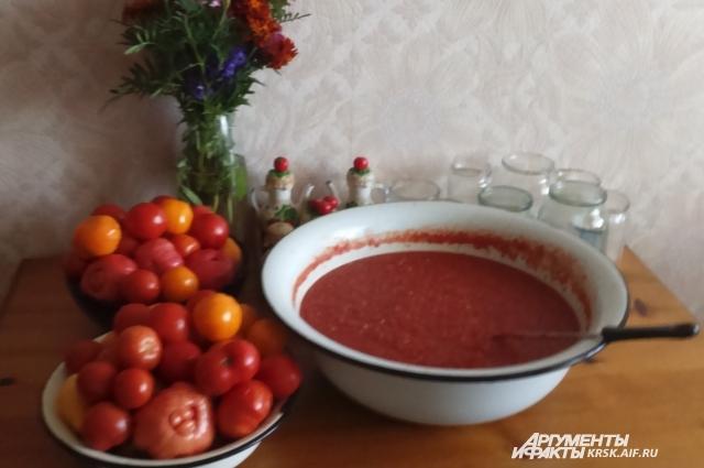 Горлодер - народная закуска и соус.
