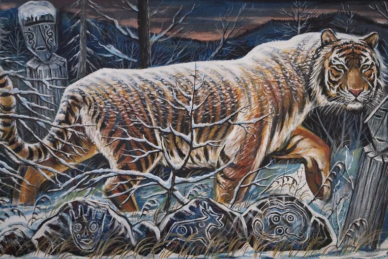 Уссурийский тигр-амба.