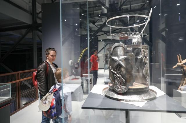 Необычные выставки открылись в Музее РЖД.