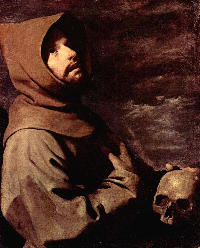 Франсиско де Сурбаран. Экстаз святого Франциска.